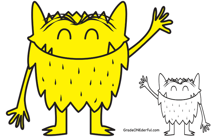 Feelings clipart color. Are important the monster