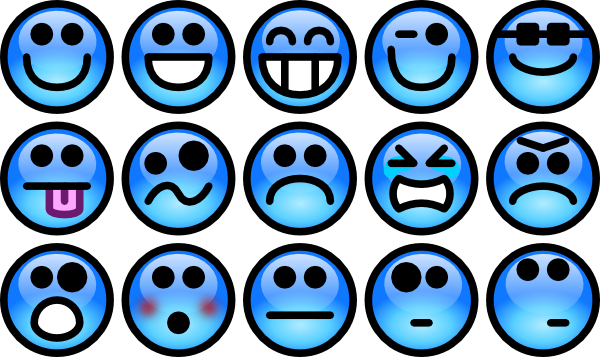 Feelings clipart feeling chart. Emotions special needs autism