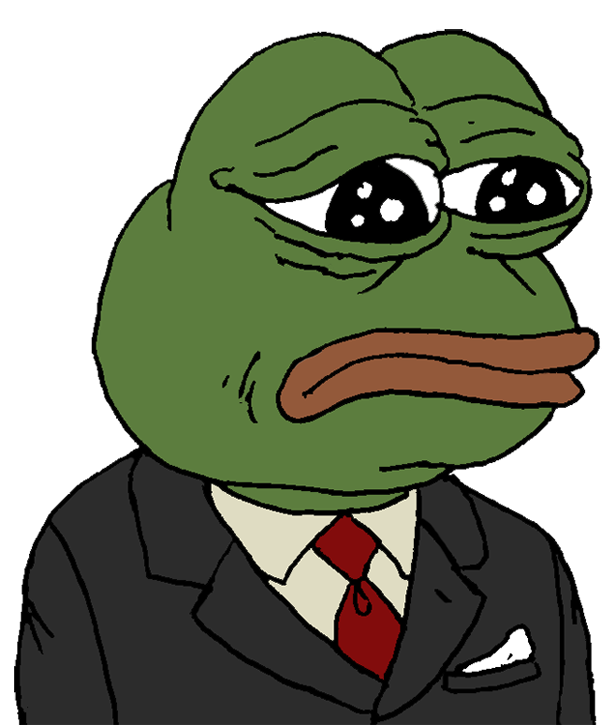 Feelsbadman png. Image feels bad man