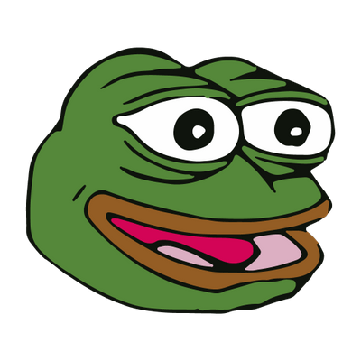 Happy pepe transparent stickpng. Feelsgoodman png clip royalty free stock