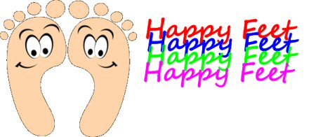 Feet clipart happy foot. Soft star shoes and