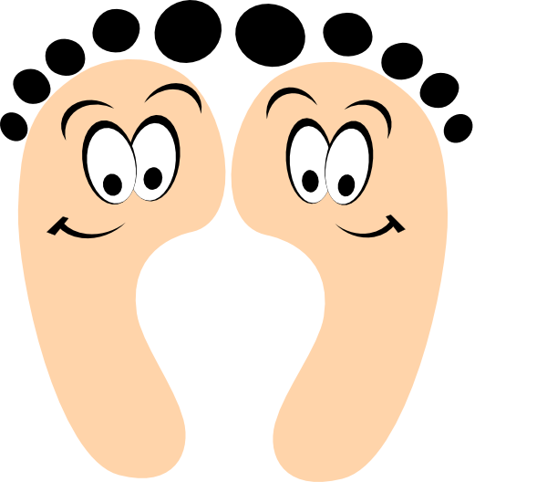 Toe drawing animated. Free cartoon feet download