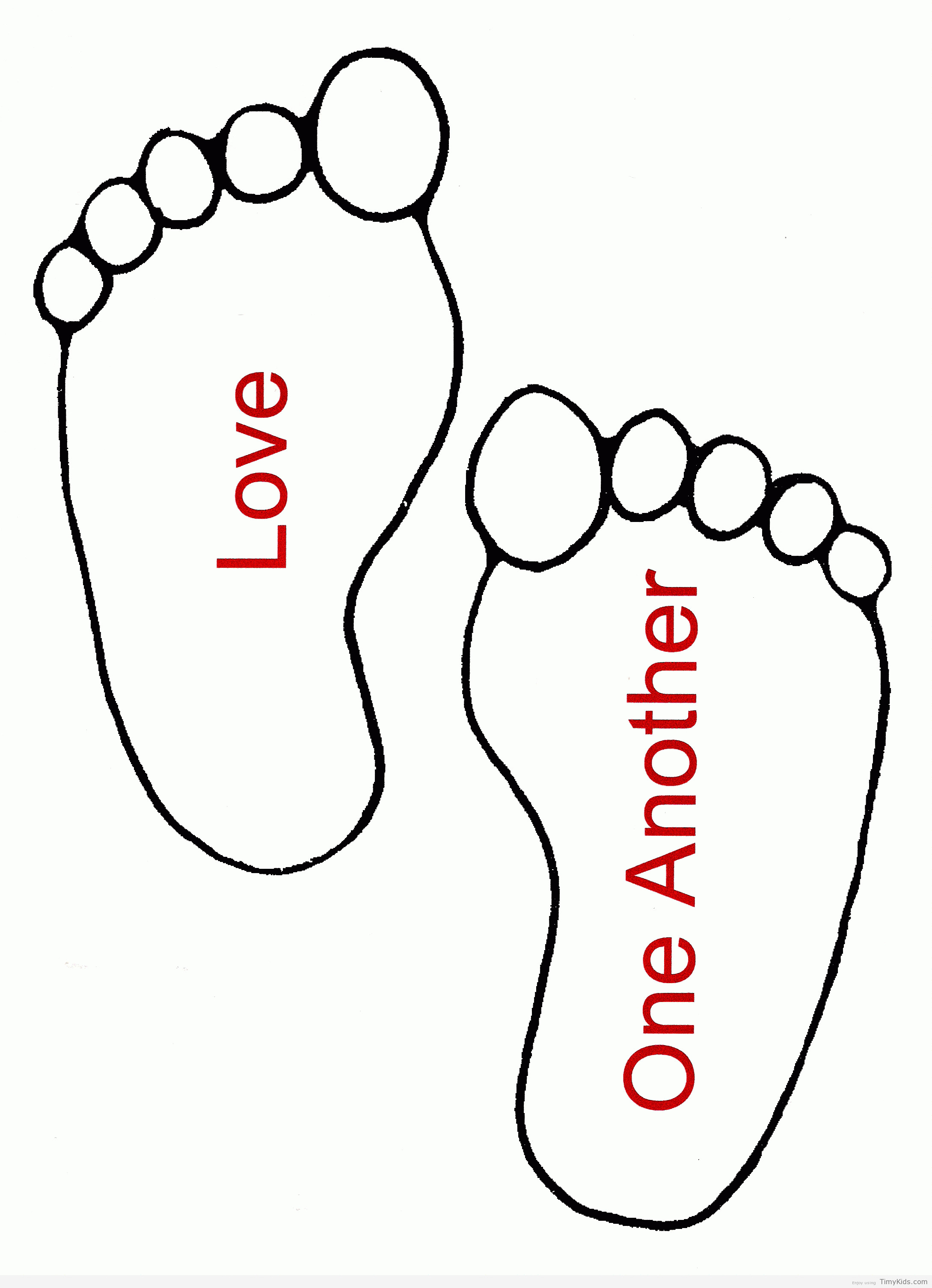 Feet clipart one foot. Picture coloring pages with