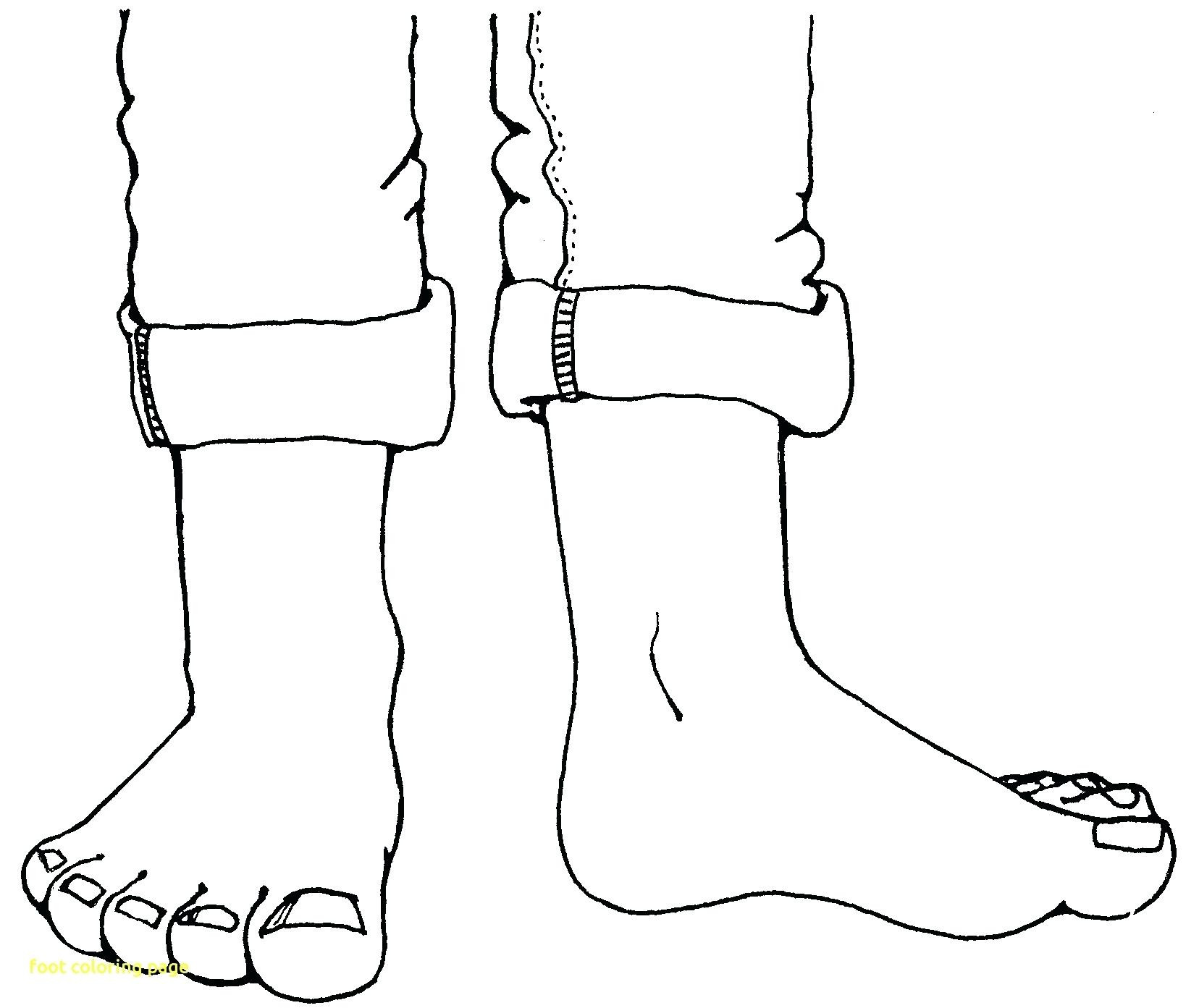 Feet clipart one foot. Coloring pages jesus washing