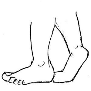 Foot clipart line drawing. Best feet images