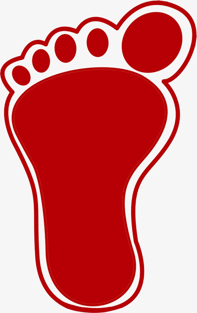 Feet clipart red. Cute little lovely png