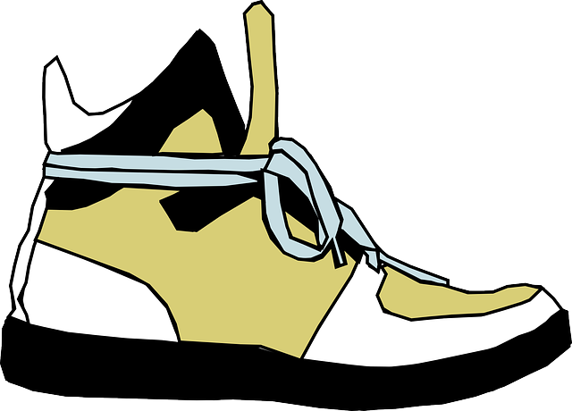Feet clipart side view. Cartoon foot clothing shoes