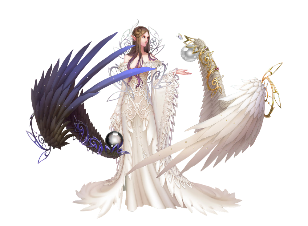 Female angel png. High quality image arts