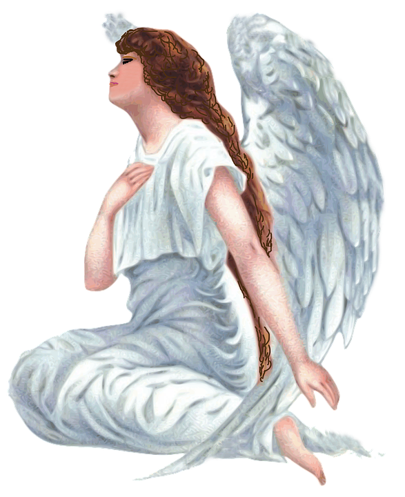 Female angel png. Photo arts