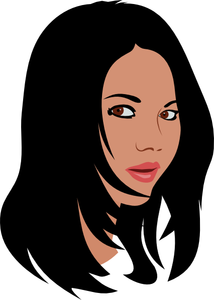 Female clipart. Free short cliparts download