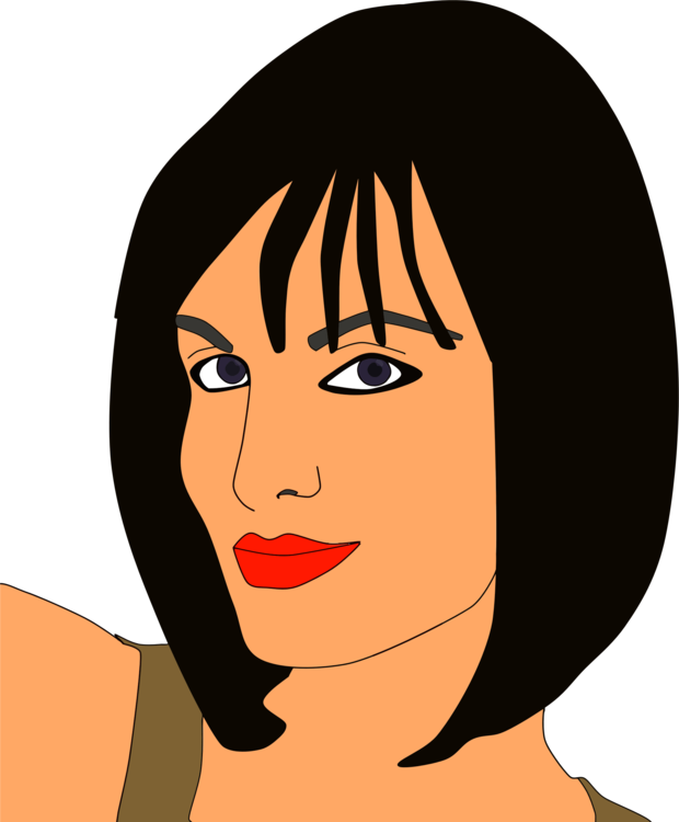 Female clipart graphic designer. Computer icons woman face