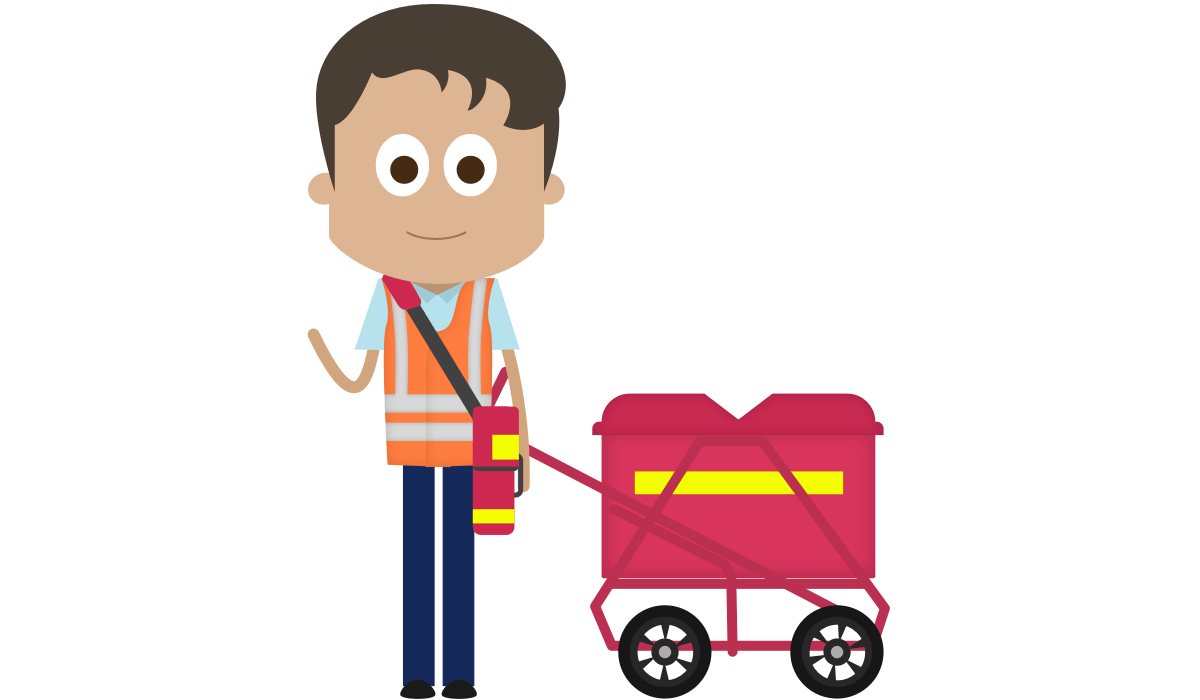 Female clipart postal worker. Cliparts for free