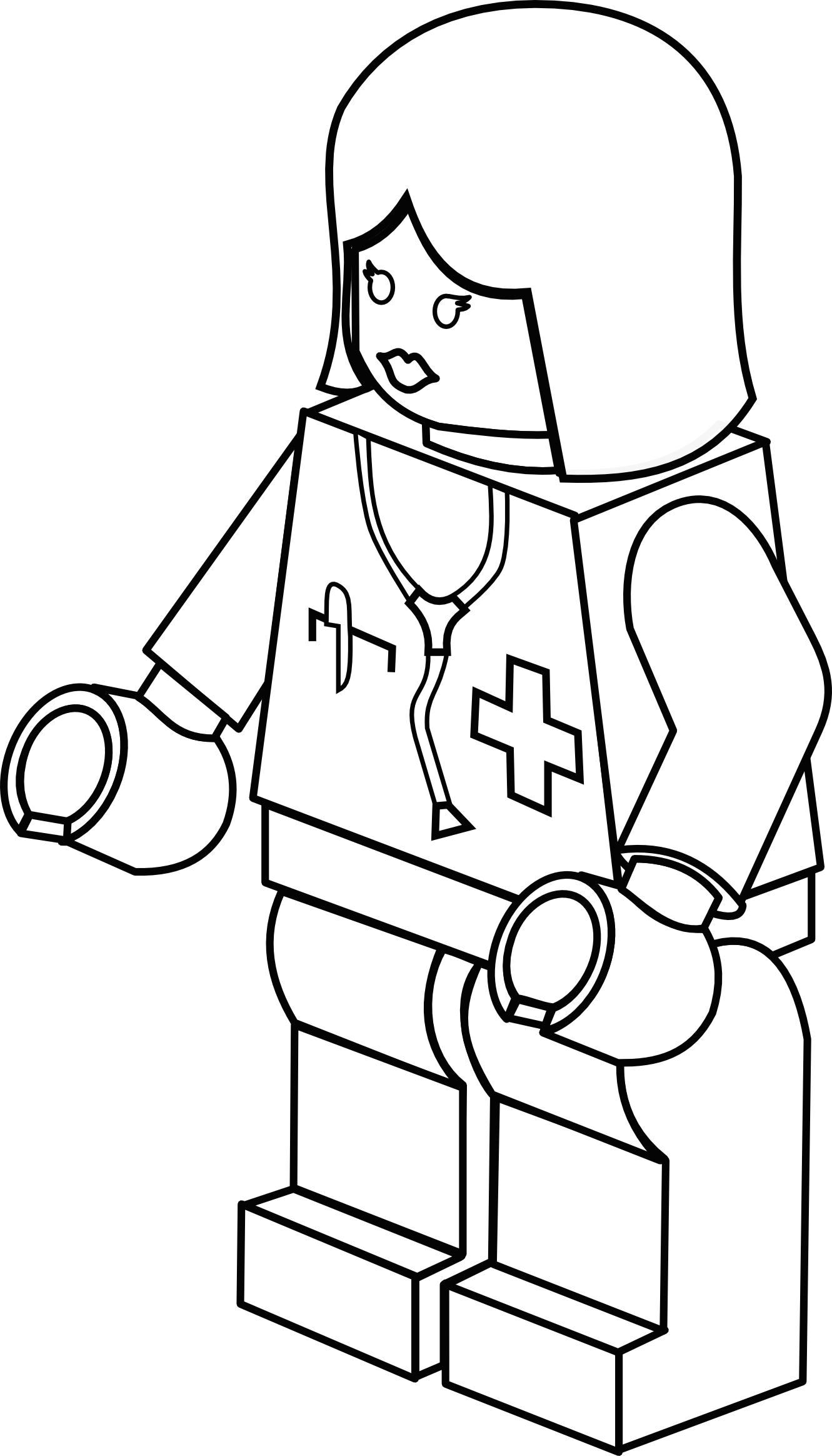Female clipart radiologist. Black doctor panda free