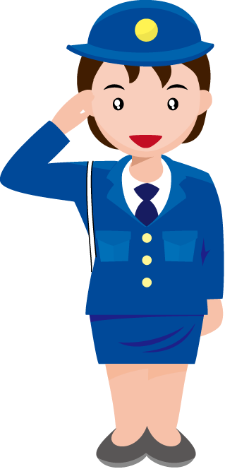 Female clipart security officer. Image group police free