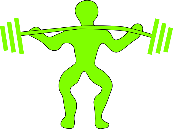 Female clipart weightlifting. Free weight lifting cliparts