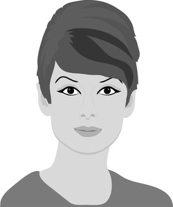 Female clipart. Panda free images info