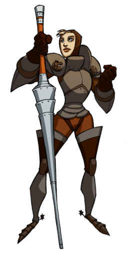 Female knight png. Image sorcery quest wiki