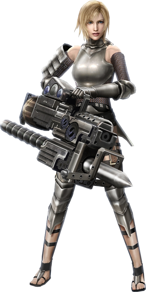 Female knight png. Image armor parasite eve