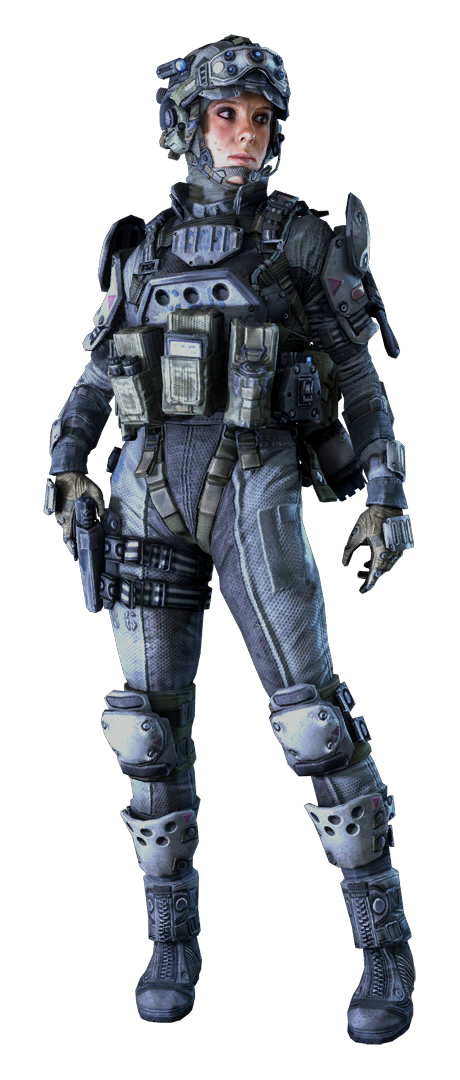 Pilot drawing concept art. Imc cqb female memphis