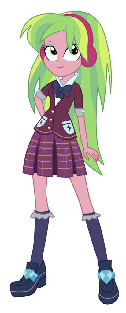 Female student checkered skirt cartoon png. Absurd res artist