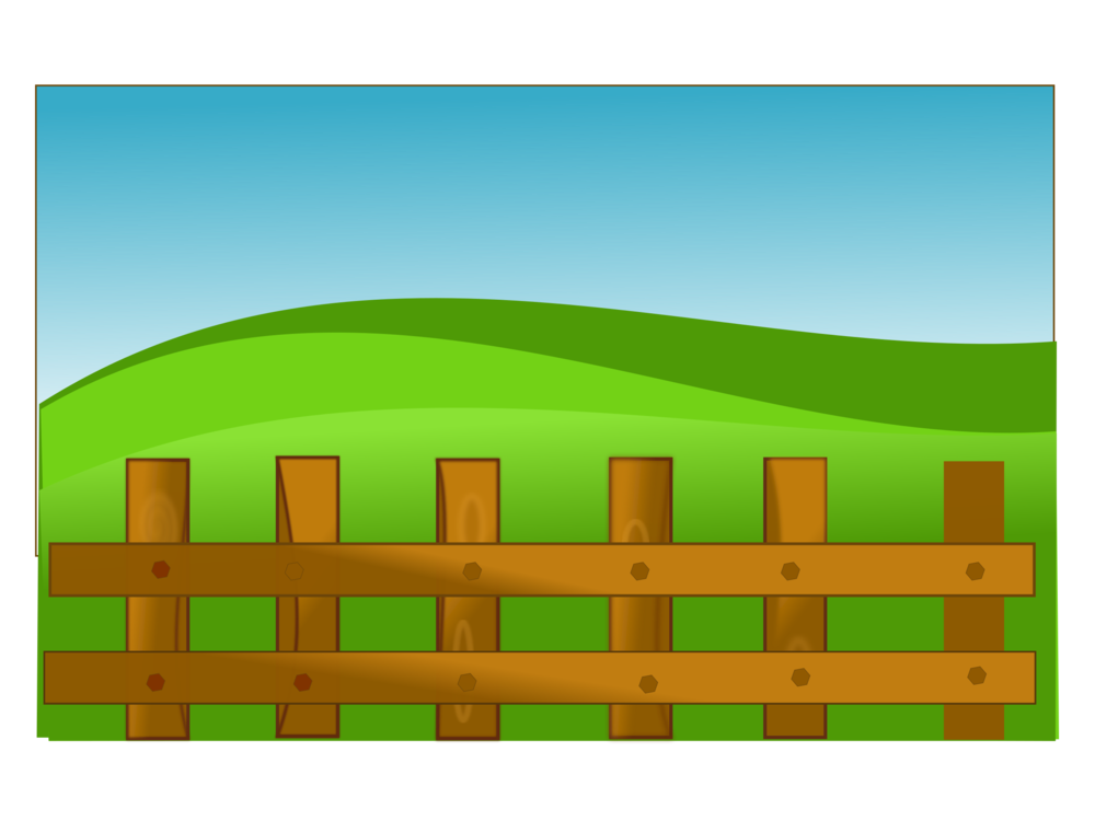 Barn clipart farm land. Agriculture field pen free