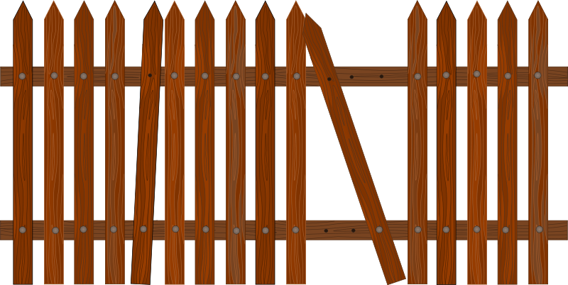 Fence svg cartoon. Collection of free fending