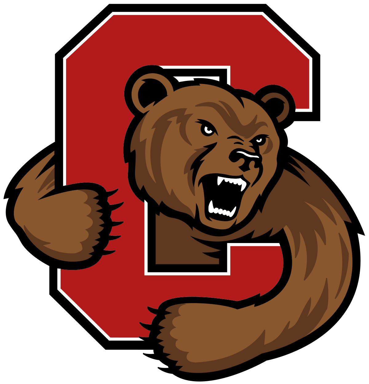 Husky svg george brown. Cornell big red wikipedia