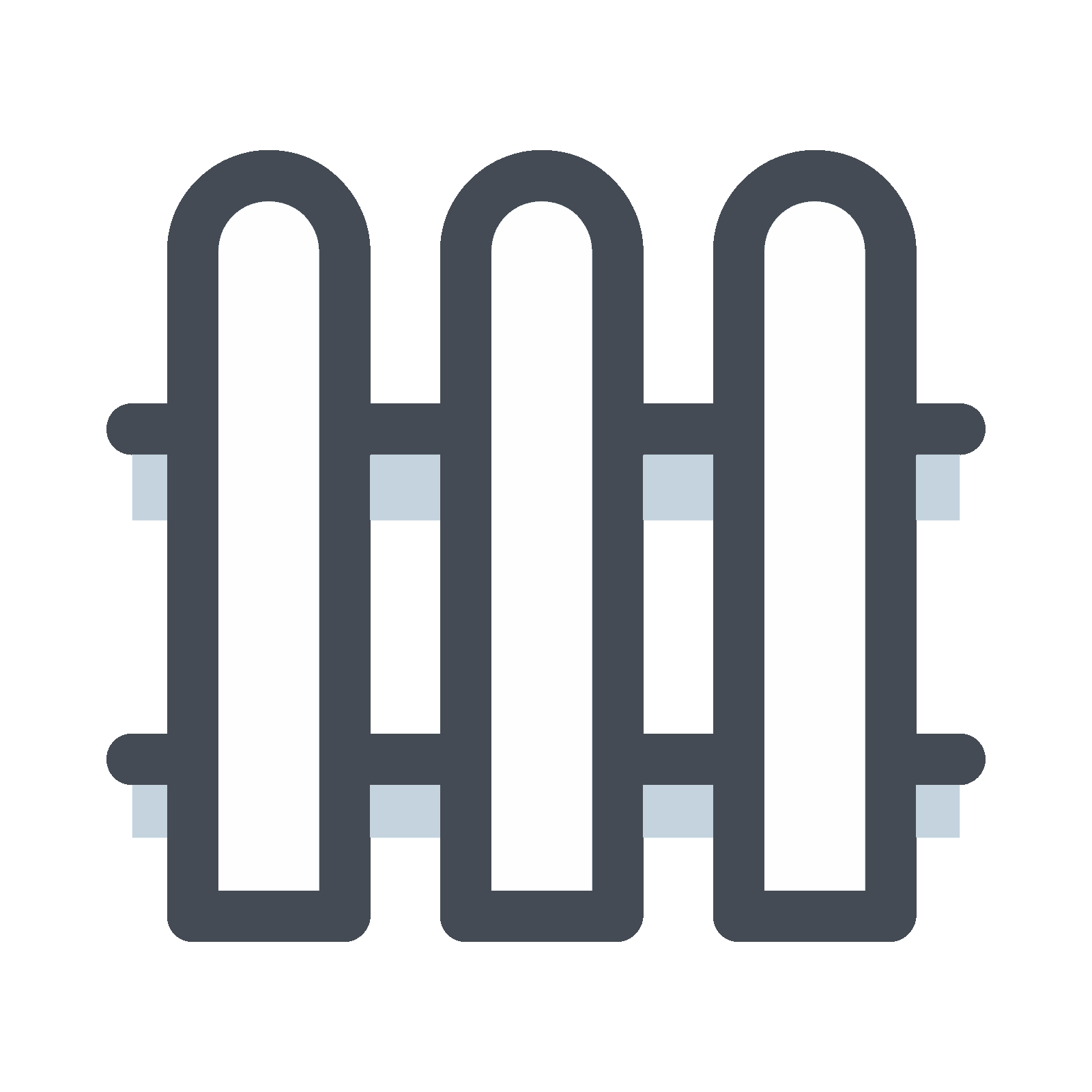 Fence svg security. House icon free download