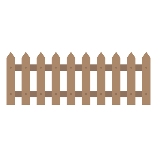 Fence svg security. Wooden decorative icon transparent