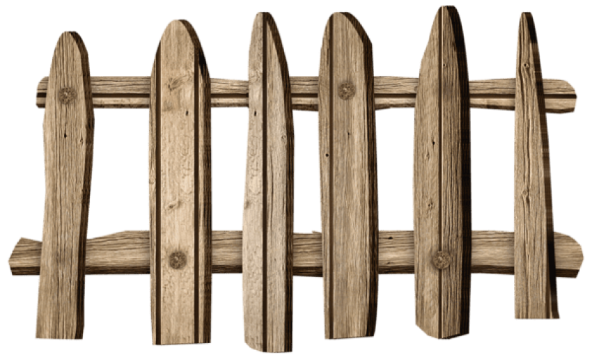 Fencing clipart fench. Download old wooden fence