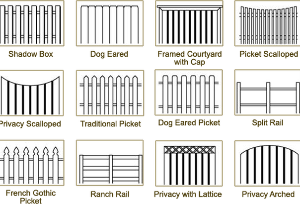 Fencing clipart fench. Wood fence drawing at