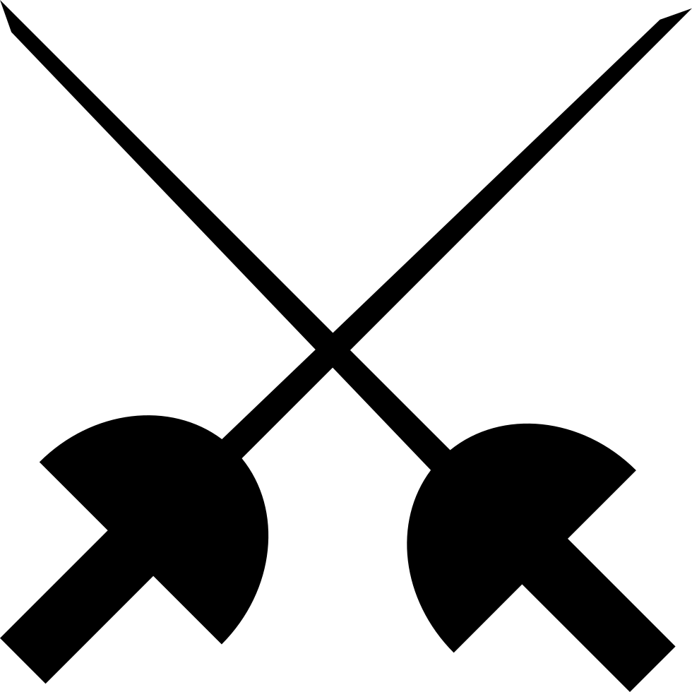Fencing clipart svg. Png icon free download