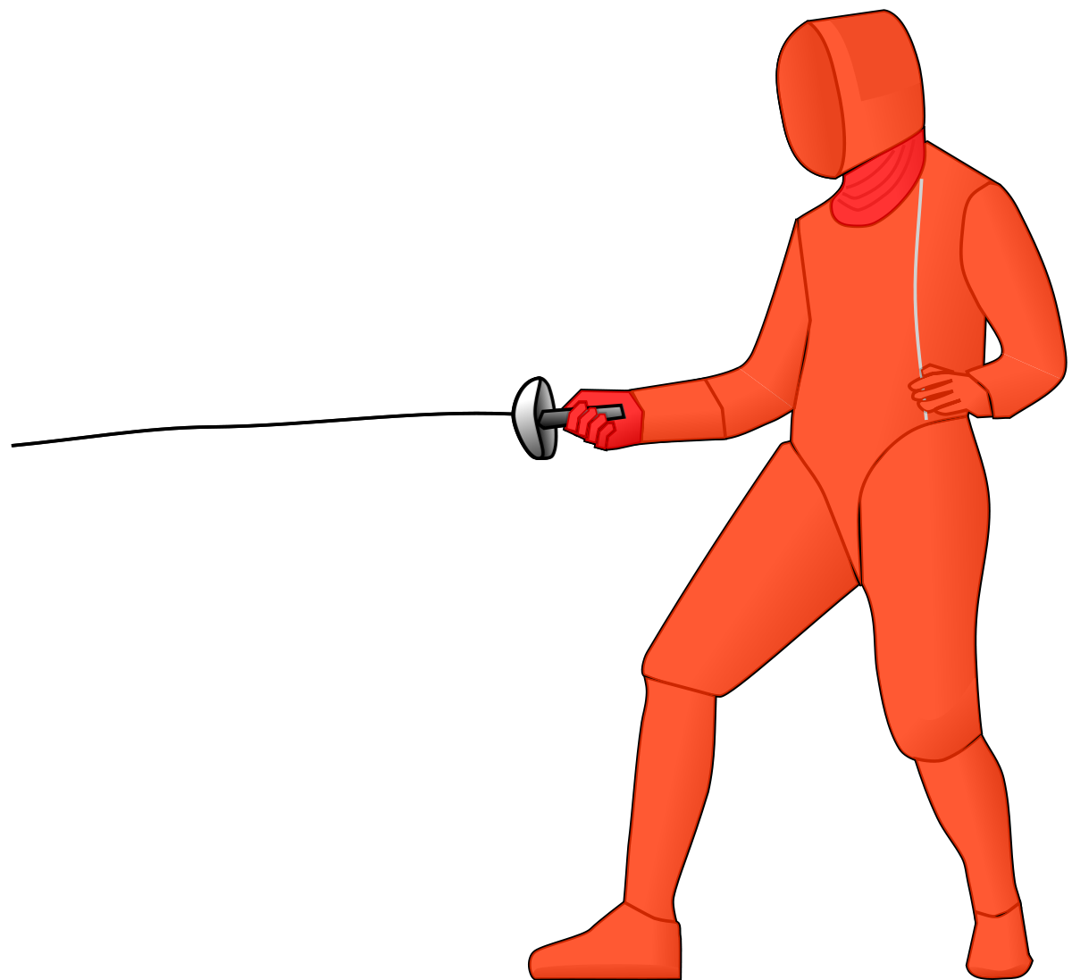 Fencing drawing duel. P e wikipedia