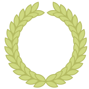 Fern clipart olive. Miss kate cuttables wreath