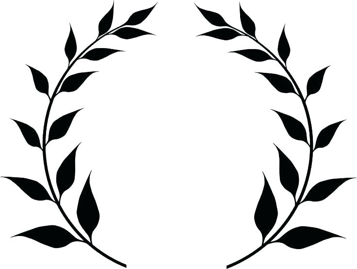 Fern clipart stencil. Alternative design wall painting