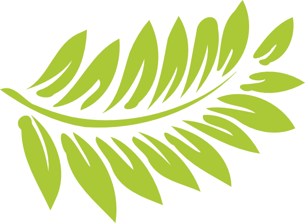Fern stencil clipart . Greenery vector transparent clip transparent stock