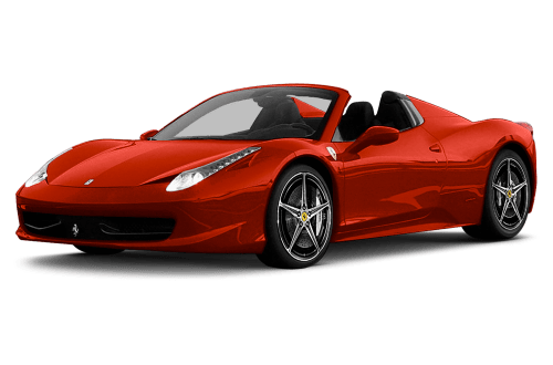 Ferrari 458 png. Spider for every