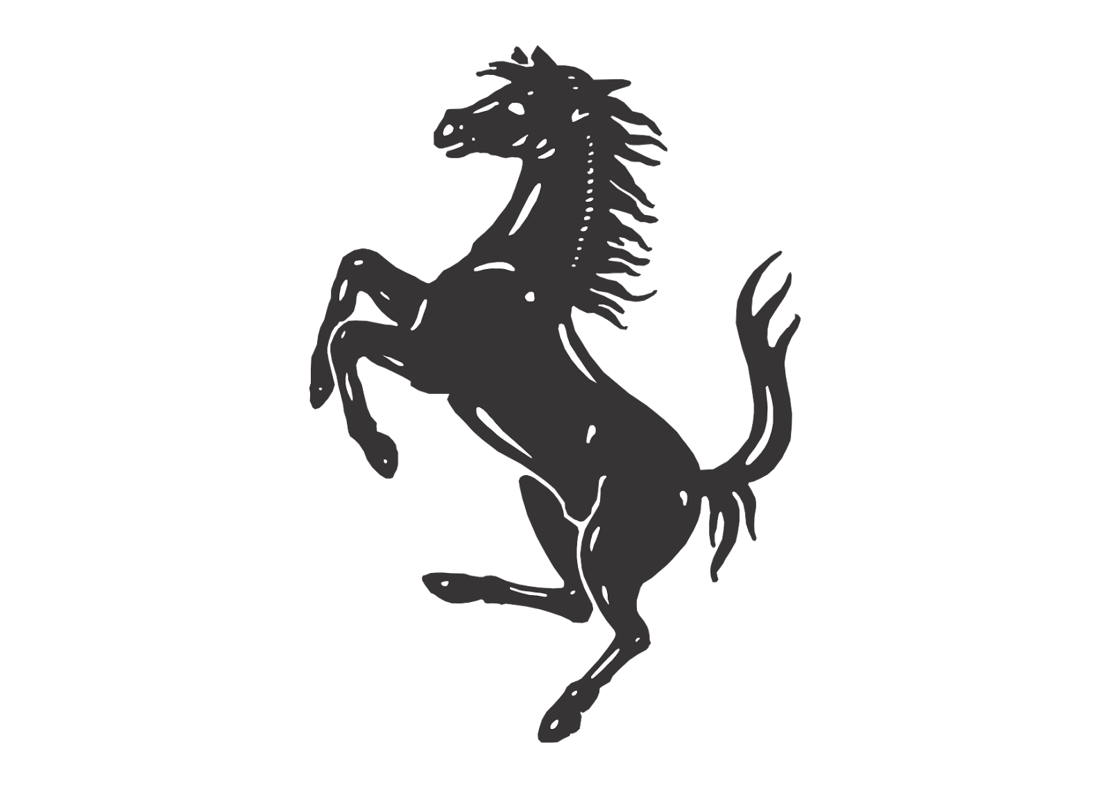 Ferrari horse logo png. High resolution galleryautomo