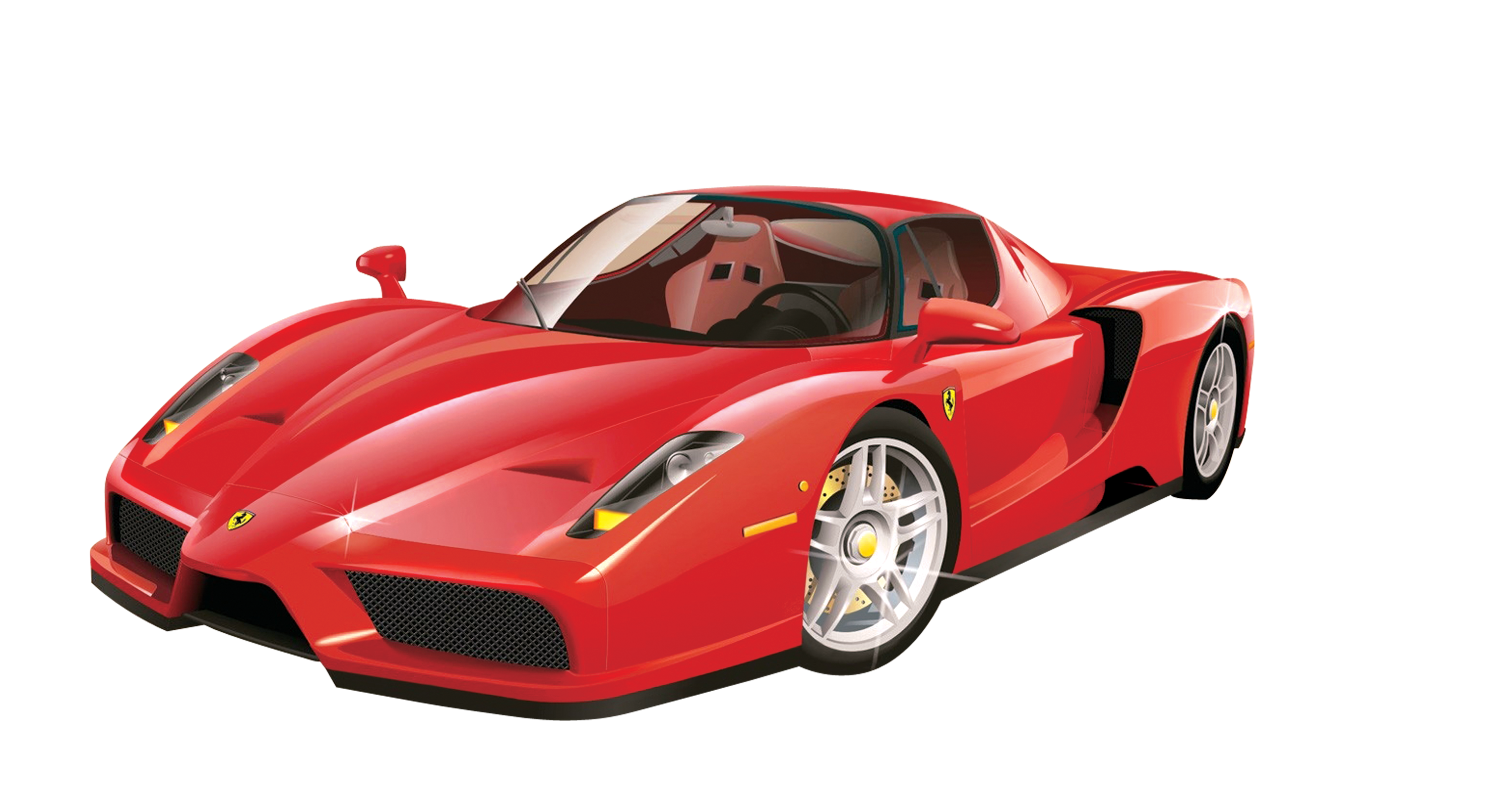 Laferrari drawing. Enzo ferrari sports car