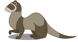 Ferret vector mlp dog. Tags derpibooru my little