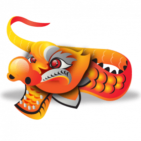 Festival clipart chinese new year. Dragon transparent png stickpng
