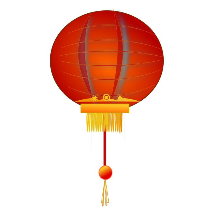 Festival clipart chinese new year. Paper lantern candle free