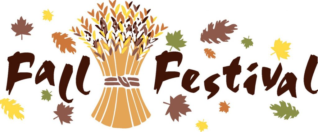 Festival clipart church. October fall ecs pco