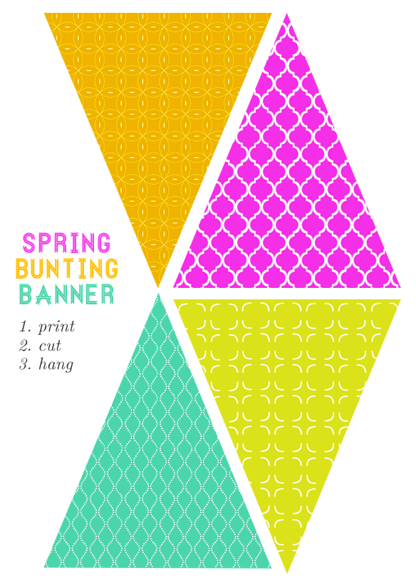 Festival clipart colourful bunting. Free printable banner party