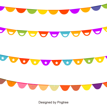 Festival clipart colourful bunting. Png images vectors and