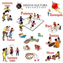Festival clipart filipino fiesta. Traditional games in the