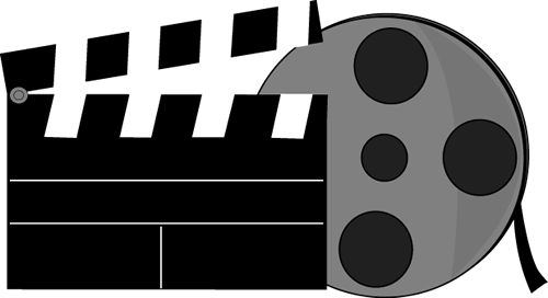movies clipart movie director