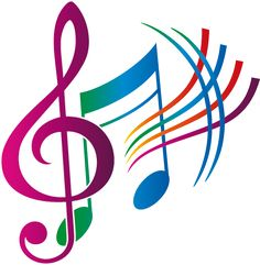 Musical clipart. Music pulse heartbeat notes