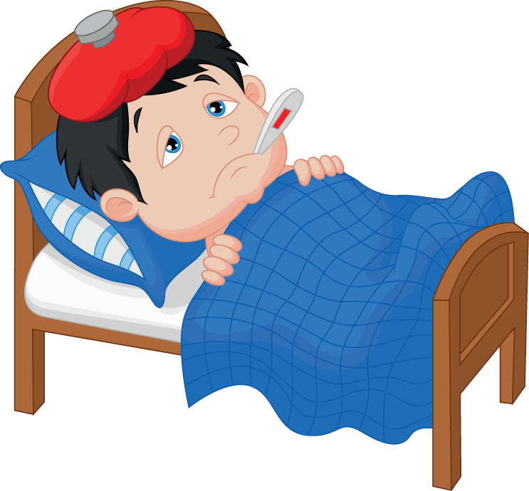 Fever clipart. Viral clip arts for