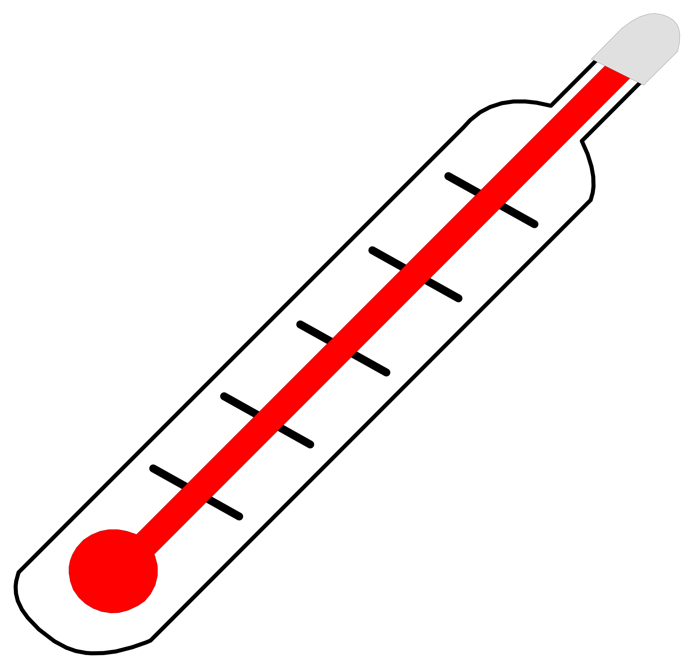 Transparent thermometer fever. Clipart hot clip arts